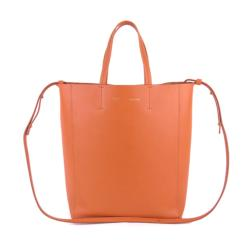 Celine Leather Small Vertical Cabas Tote