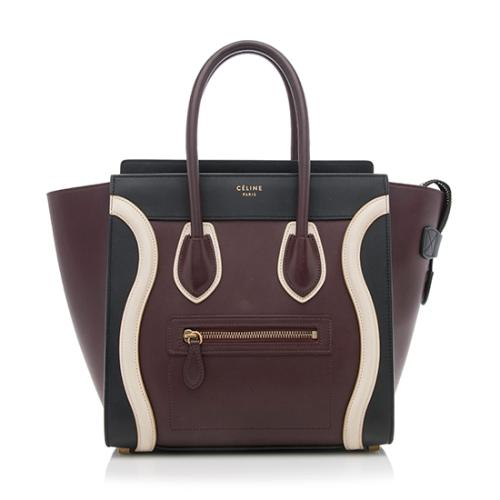 90cfbb8e5a5d Celine-Smooth-Calfskin-Micro-Luggage-Tote 78673 front large 1.jpg