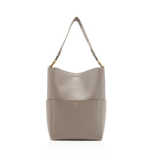 Celine Soft Grained Calfskin Sangle Bucket Bag