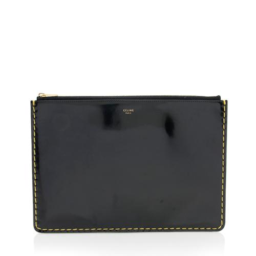 Celine Spazzolato Stitch Pouch - FINAL SALE