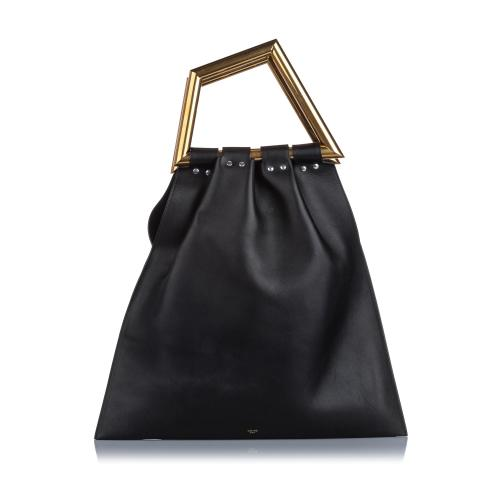 Celine Triangle Open Sac Satchel