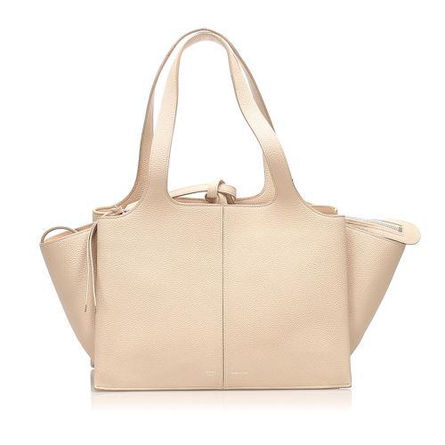 Celine Trifold Leather Handbag