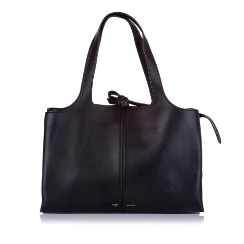 Celine Trifold Leather Tote Bag