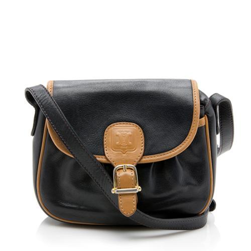 Celine Vintage Leather Mini Crossbody Bag