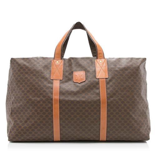 Celine Vintage Monogram Collapsible Duffle Bag