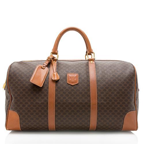 Celine Vintage Monogram Duffel Bag
