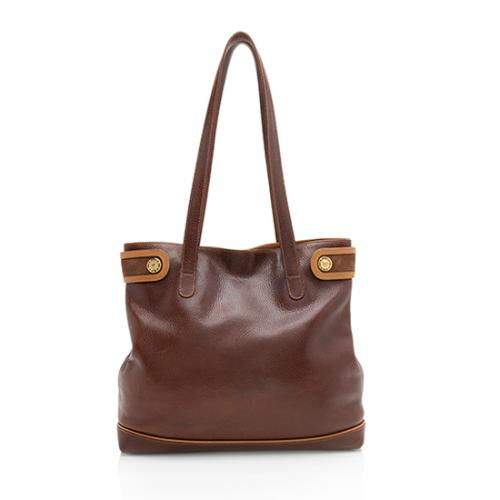 Celine Vintage Pebbled Leather Tote