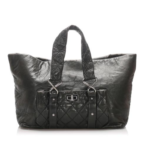 Chanel Leather 8 Knots Tote