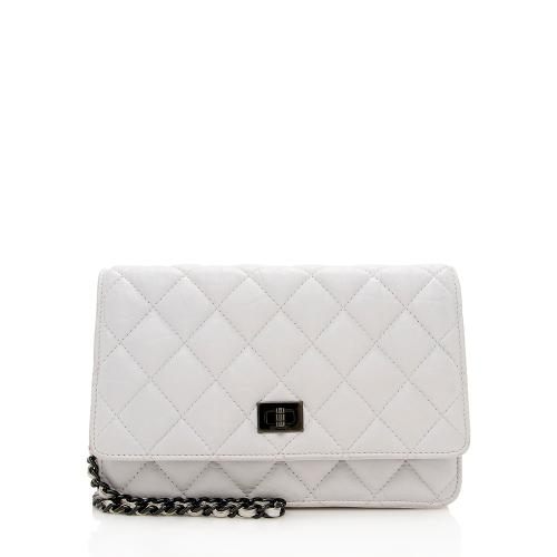 Chanel Aged Calfskin 2.55 Reissue Wallet On Chain Bag