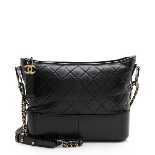 Chanel Aged Calfskin Gabrielle Large Hobo