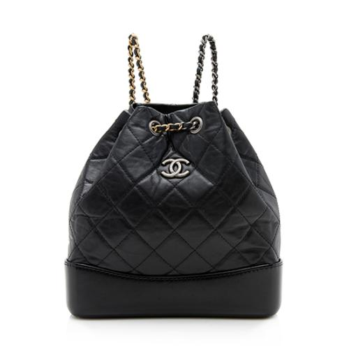 Chanel Aged Calfskin Gabrielle Small Backpack f761ee81b571b