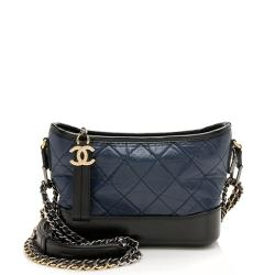 Chanel Aged Calfskin Gabrielle Small Hobo