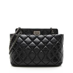 Chanel Aged Calfskin Reissue 2.55 Tote