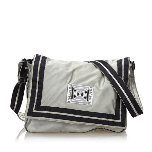 Chanel CC Sports Line Nylon Crossbody Bag