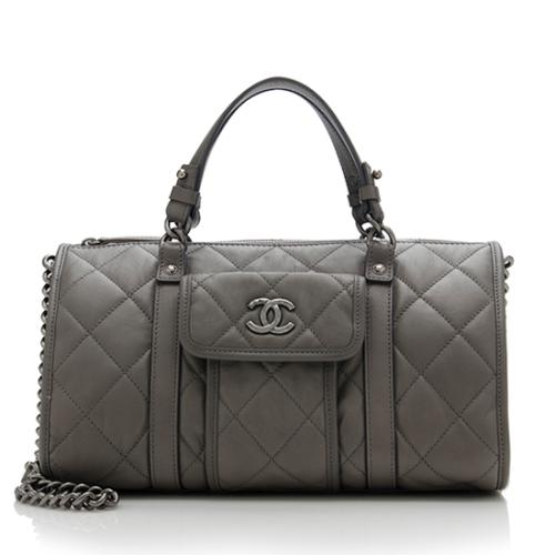 Chanel Calfskin Bowling Bag