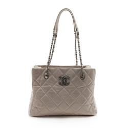 Chanel Calfskin Coco Soft Small Shopping Tote