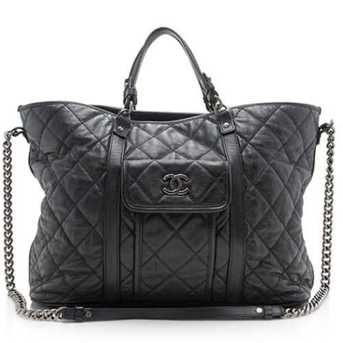 Chanel Calfskin Large Shopping Tote
