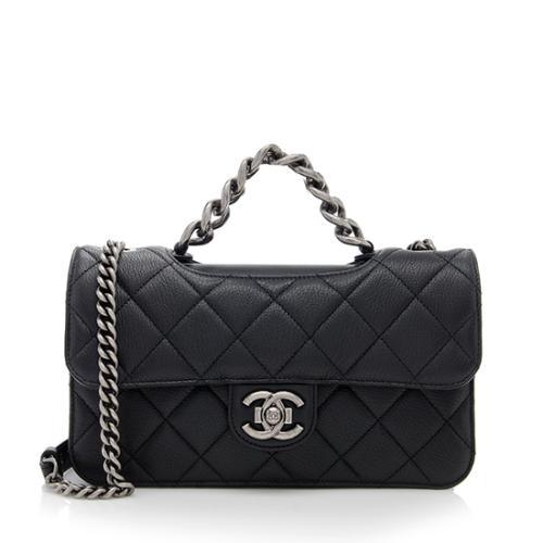 Chanel Calfskin Perfect Edge Medium Shoulder Bag