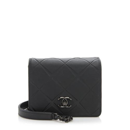 73cbe19028d8 Chanel Calfskin Propeller Mini Flap Shoulder Bag