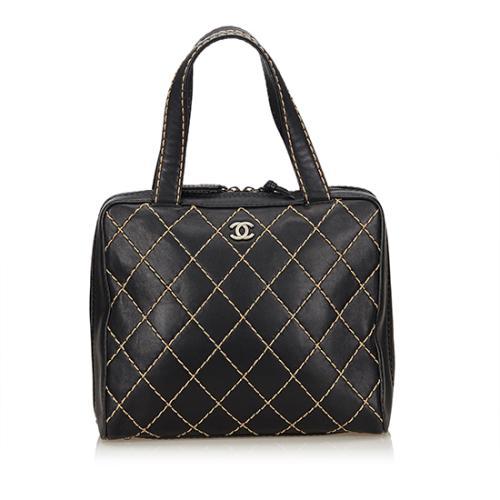 Chanel Calfskin Surpique Large Satchel