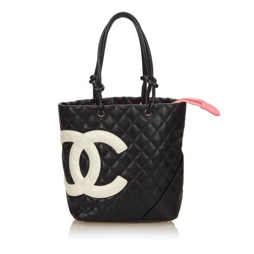Chanel Lambskin Cambon Ligne Tote