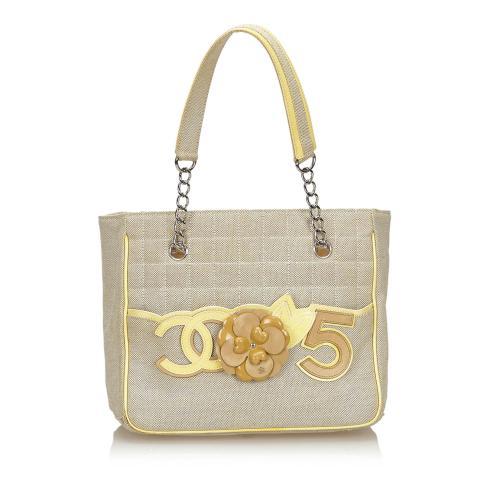 Chanel Camellia CC No 5 Tote