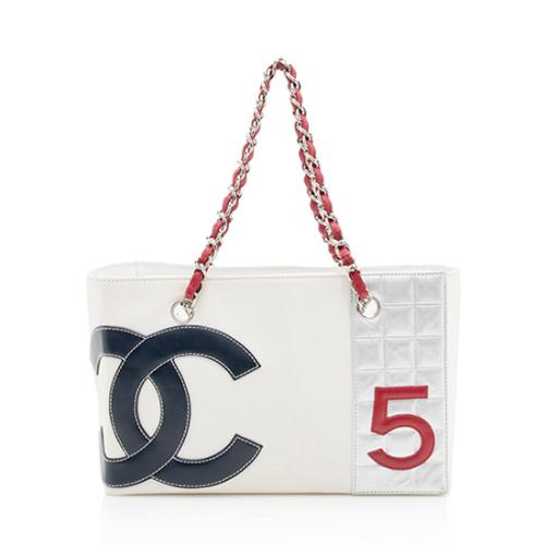 Chanel Canvas No. 5 Grand Shopping Tote