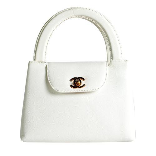 Chanel Caviar Kelly Satchel Handbag