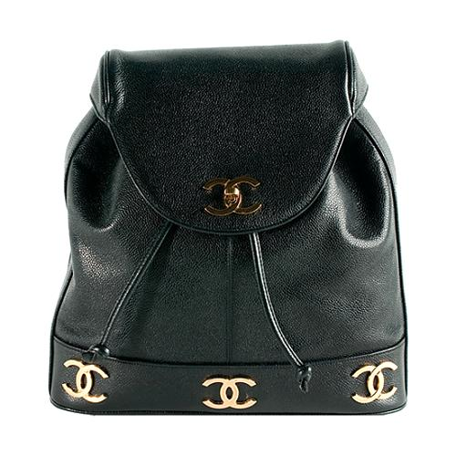 Chanel-Caviar-Leather-Backpack 49204 front large 1.jpg 1dd1e253ddf8d