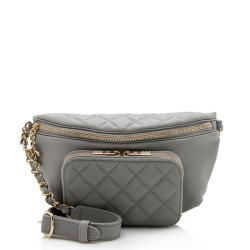 Chanel Caviar Leather Business Affinity Waist Bag