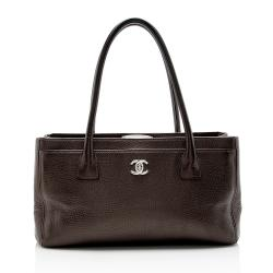 Chanel Caviar Leather Cerf Classic Executive Small Tote