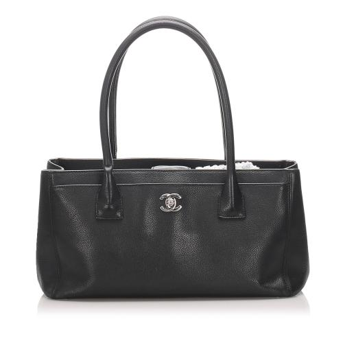 Chanel Leather Executive Cerf Tote