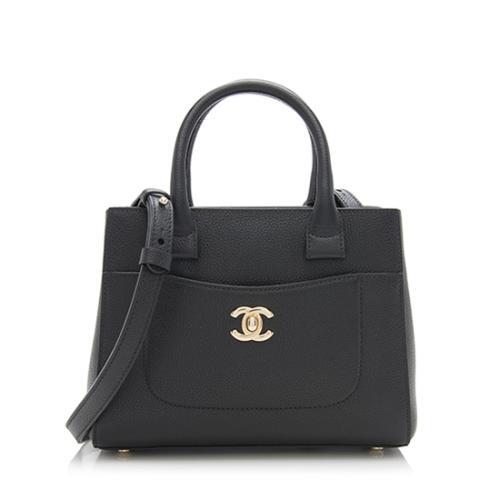 Chanel Caviar Leather Executive Mini Shopper Tote