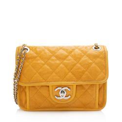 Chanel Caviar Leather French Riviera Mini Flap Bag