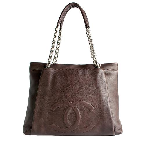 Chanel Caviar Leather Large Tote