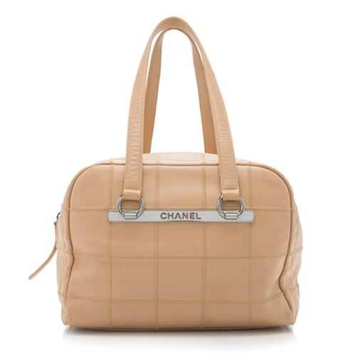 Chanel Caviar Leather Square Quilted Large Shoulder Bag