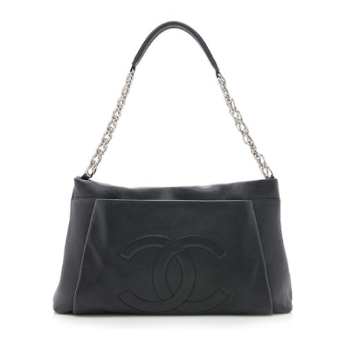 2daa3624fb Chanel-Caviar-Leather-Timeless-CC-Pleated-Shopper -Tote 94350 front large 0.jpg