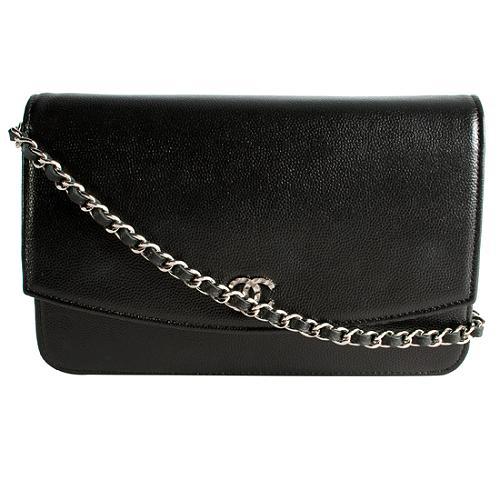Chanel Caviar Leather WOC Shoulder Handbag
