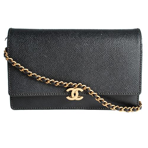 Chanel Caviar Leather WOC Shoulder Handbag