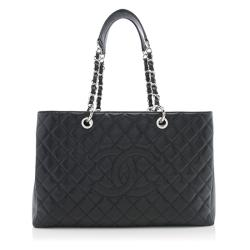 Chanel Caviar Leather XL Grand Shopping Tote