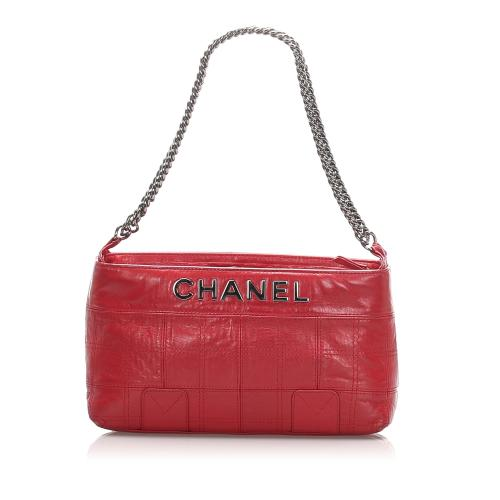 Chanel Leather Lax Shoulder Bag