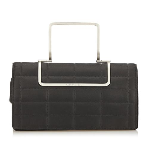 Chanel Chocolate Bar Nylon Top Handle Bag