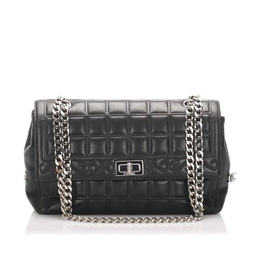 Chanel Lambskin Chocolate Bar Reissue  Shoulder Bag