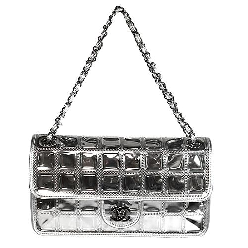 Chanel Classic 2.55 Transparent Ice Cube Handbag