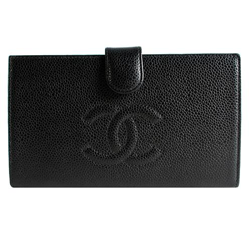 Chanel Classic Caviar Wallet