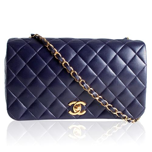Chanel Classic Quilted Flap Shoulder Handbag
