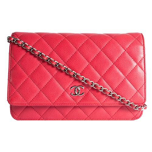 Chanel Classic Quilted WOC Shoulder Handbag