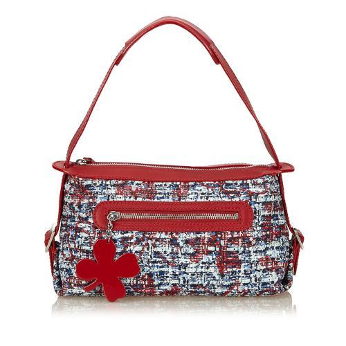 Chanel Clover Tweed Shoulder Bag