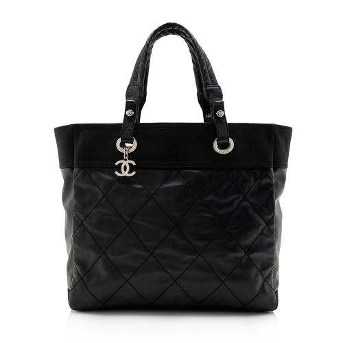 Chanel Coated Canvas Biarritz Tote