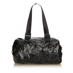 Chanel Coated Canvas Sport Line Shoulder Bag